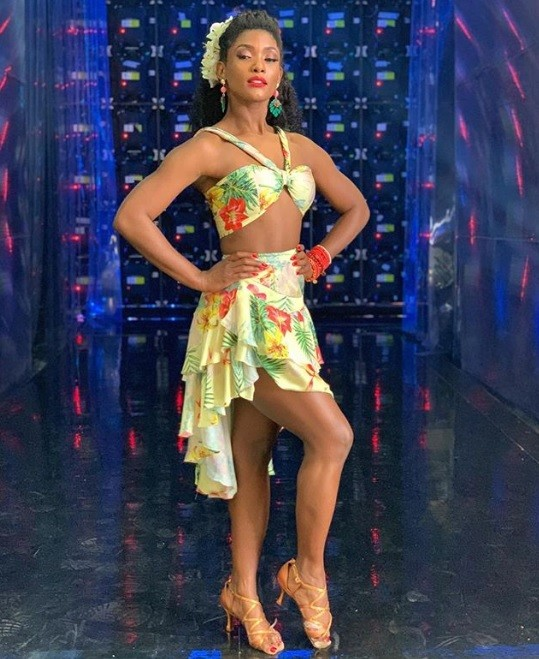 Erika Januza na 'Dança dos famosos' (Foto: Reprodução / Instagram)