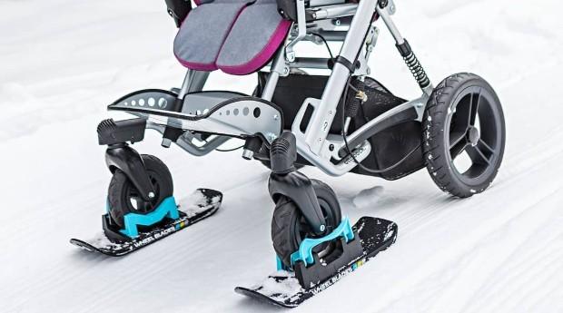 A marca criou modelos para facilitar a mobilidade de carrinhos de bebê e com bengalas (Foto: Divulgação)