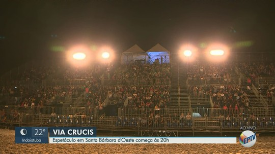 Santa Bárbara d'Oeste recebe espetáculo 'Via Crucis' até domingo