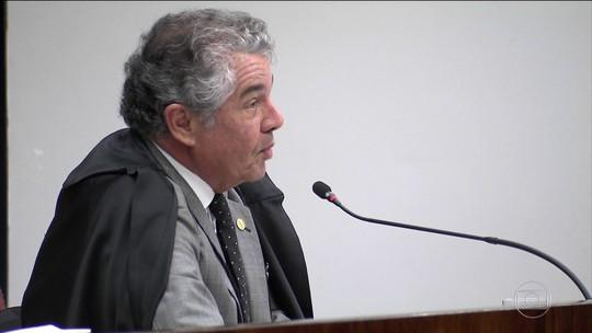 Marco Aurélio cita 'solicitação e percepção de vantagem indevida'