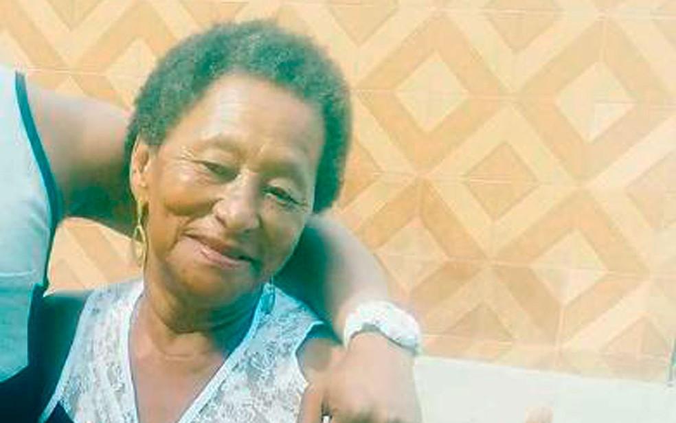 Francisca Amorim, de 71 anos, foi morta em Cachoeira, na Bahia (Foto: Fábio Santos / Voz da Bahia)