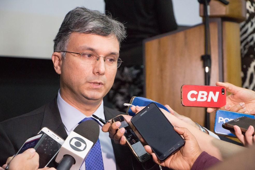 O ministro do Planejamento, Esteves Colnago — Foto: Hoana Gonçalves/MP