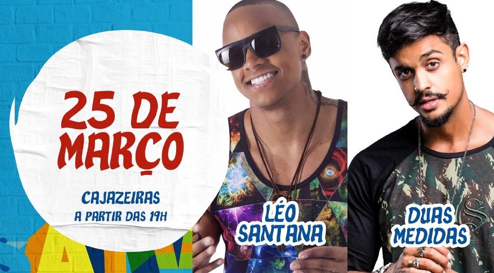 Atrações do Festival da Cidade, em Salvador (Foto: Divulgação)