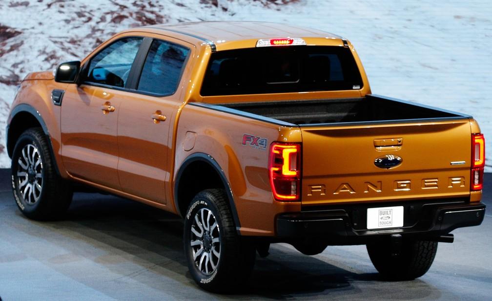 Ford Ranger muda nos EUA, mas deve ficar igual no Brasil (Foto: Brendan Mcdermid/Reuters)