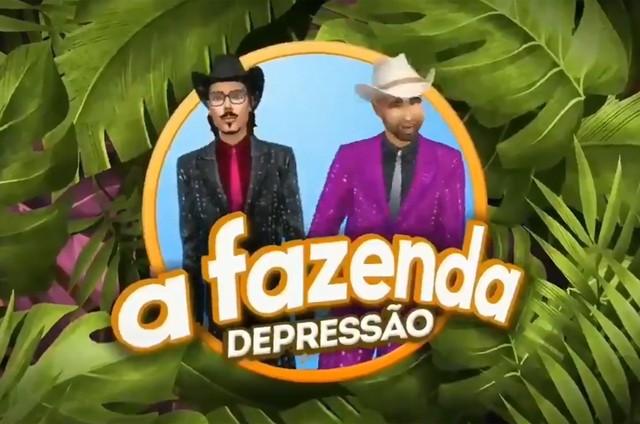 'A fazenda depressão' (Foto: Reprodução)