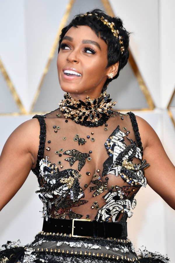 HOLLYWOOD, CA - FEBRUARY 26:  Actor/singer Janelle Monae attends the 89th Annual Academy Awards at Hollywood & Highland Center on February 26, 2017 in Hollywood, California.  (Photo by Frazer Harrison/Getty Images) *** Local Caption *** Janelle Monae (Foto: Getty Images)