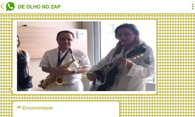 Vídeo da médica Ludhmila Hajjar cantando e tocando violão diante da então presidente Dilma Rousseff foi usado para taxá-la de petista