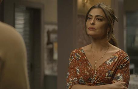 Na terça (17), Maria da Paz (Juliana Paes) incentivará Rock (Caio Castro) a tentar conquistar Joana (Bruna Hamú) Reprodução
