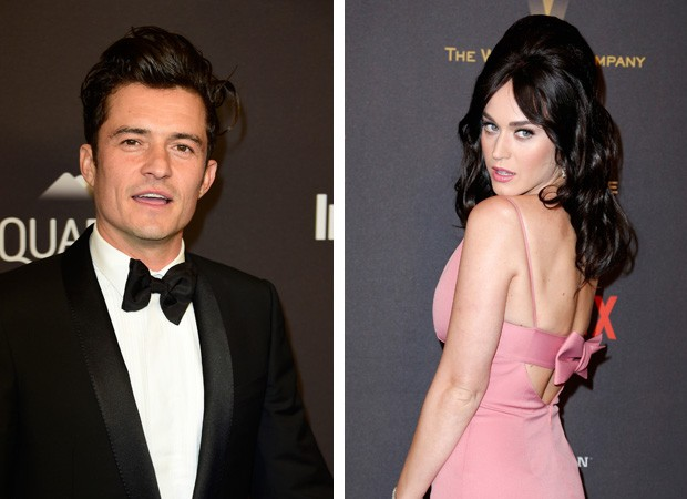 Orlando Bloom e Katy Perry (Foto: Gettyimages)