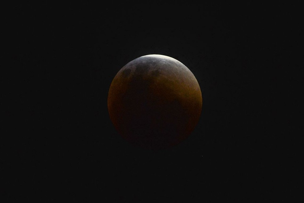 Eclipse lunar desta sexta-feira (23) poderá ser visto melhor na costa do Brasil (Foto: Divulgação)