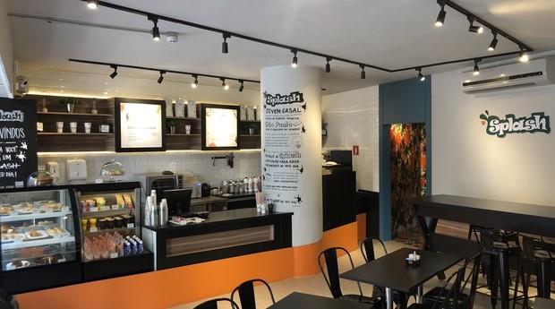 O modelo de negócios da Splash se assemelha ao da marca norte-americana Starbucks. (Foto: Divulgação)