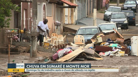 Após estragos causados pela chuva, Sumaré decreta situação de emergência