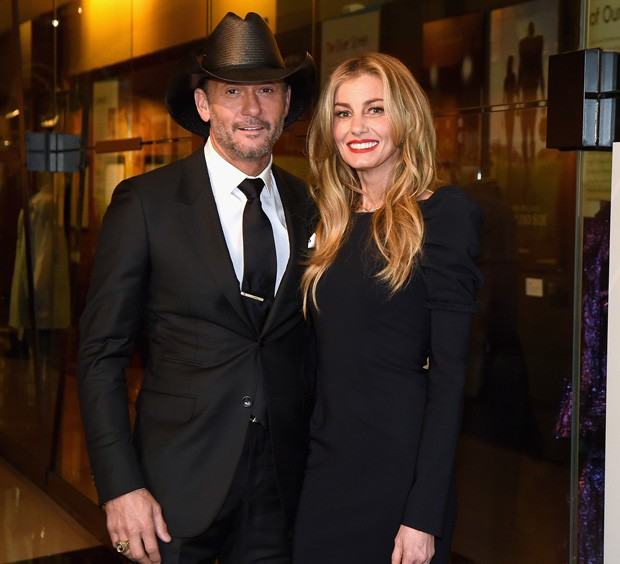 Tim McGraw e Faith Hill (Foto: Getty Images)