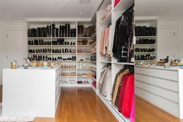 Closet de Amabylle, nora de Zezé Di Camargo (Foto: Reprodução/Instagram)