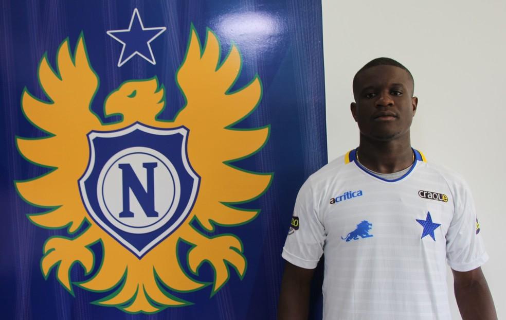Jeferson Siqueira está de volta ao Nacional (Foto: Nayanne Silva/Nacional)