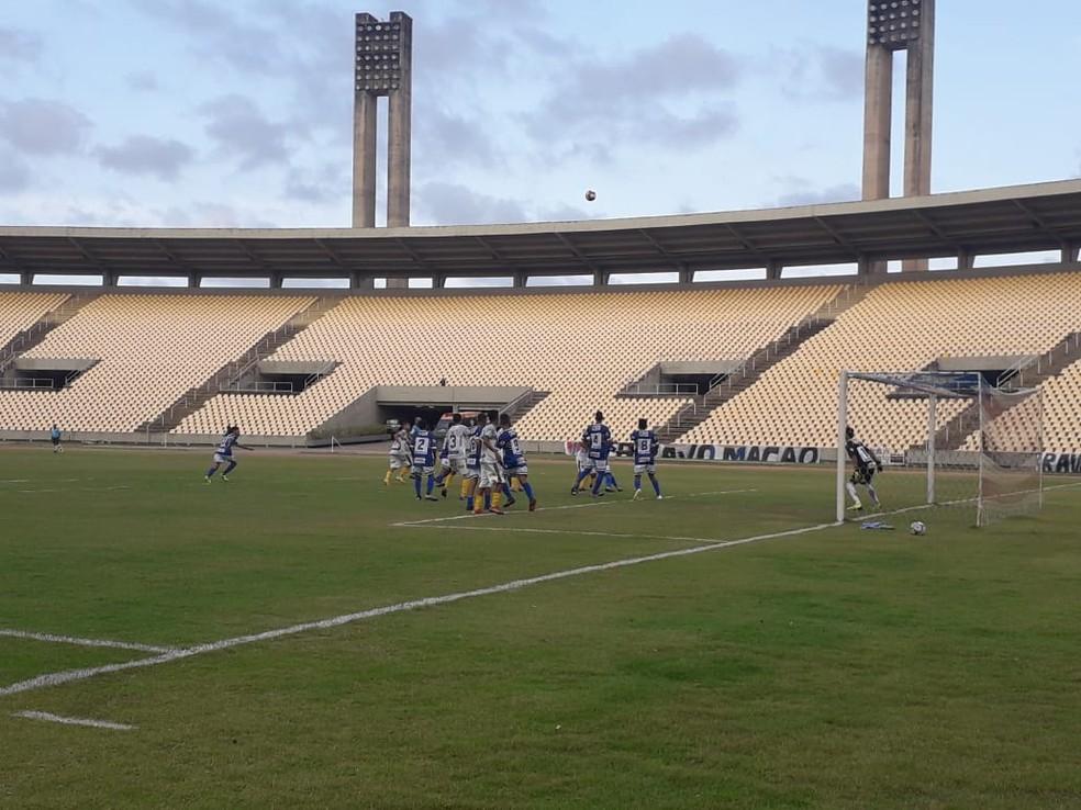 Maranhão e Cordino se enfrentaram no Castelão — Foto: João Ricardo/GloboEsporte.com