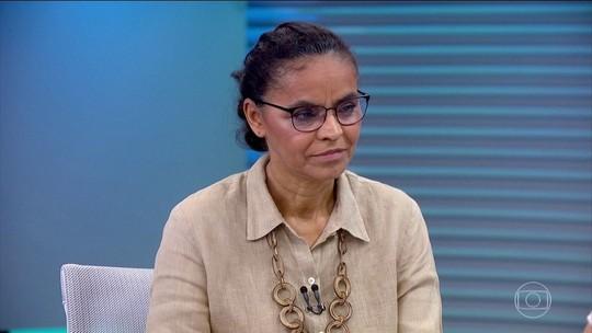 Marina atribui posição nas pesquisas a 'eleitor livre' e diz não se render a discurso fácil