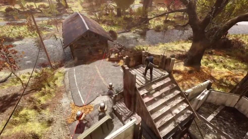 Nuclear Winter é o modo Battle Royale de Fallout 76 — Foto: Reprodução/Bethesda