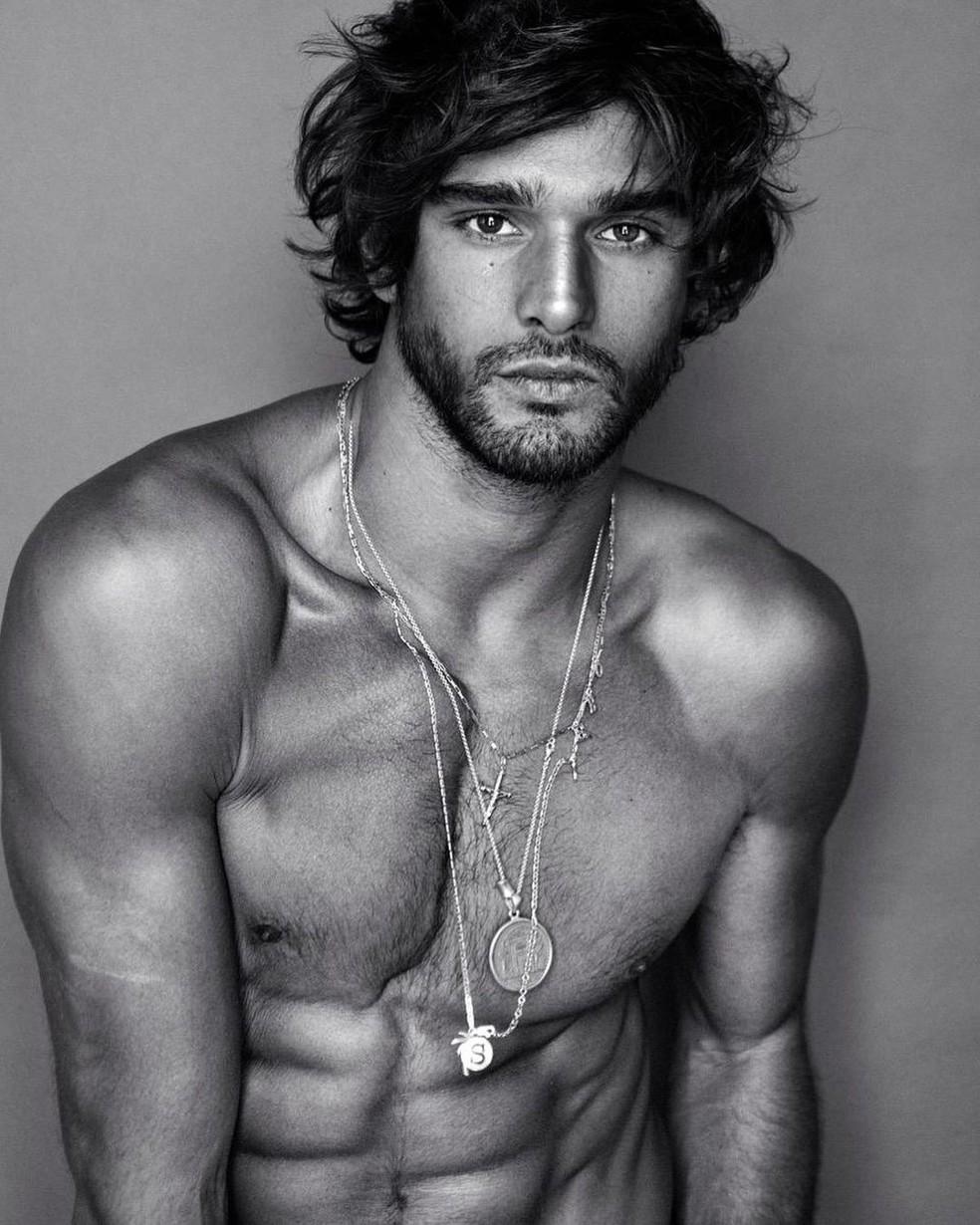 Marlon Teixeira é um modelo brasileiro — Foto: Reprodução/Instagram