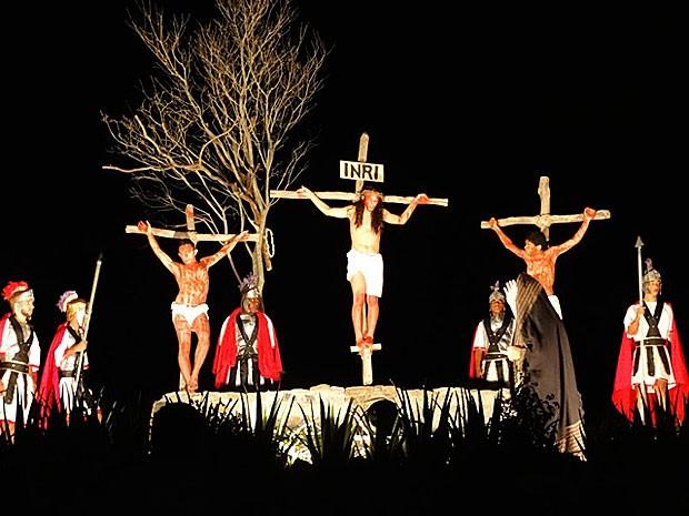 Paixão de Cristo de Alagoinha, em Pernambuco, receberá verba estadual para temporada 2015 (Foto: Divulgação / Fundarpe)