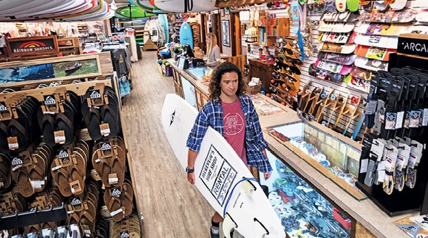 McKevlin's Surf Shop (Foto: Richard Ellis)