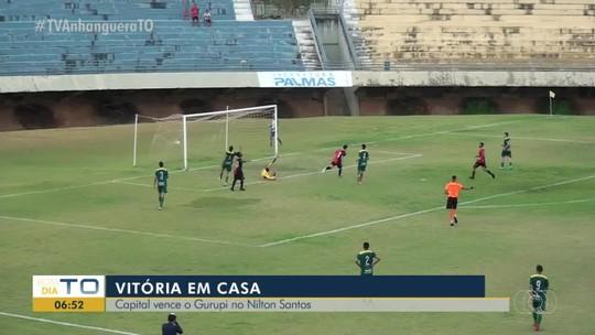 Sub-19: primeiro gol do Capital na vitória contra o Gurupi sai em belo chapéu; veja o vídeo