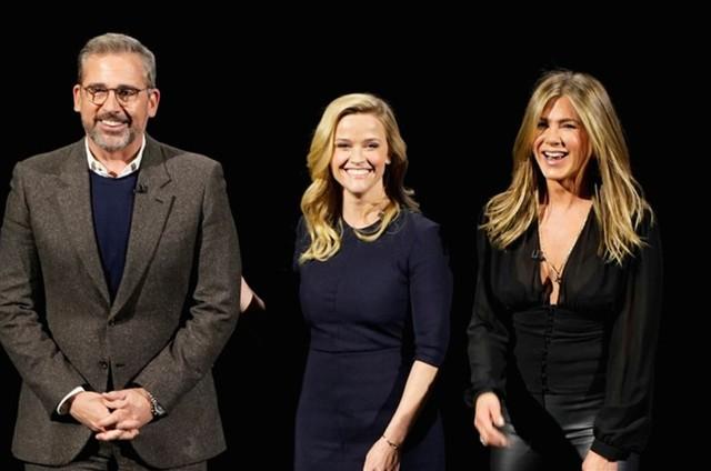 Steve Carell, Rheese Whiterspoon e Jennifer Aniston (Foto: Divulgação)