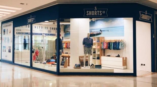Loja da Shorts Co na cidade de São Paulo (Foto: Reprodução/Instagram)