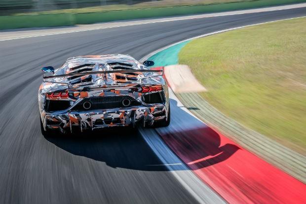 Lamborghini Aventador SVJ (Foto: Divulgação)