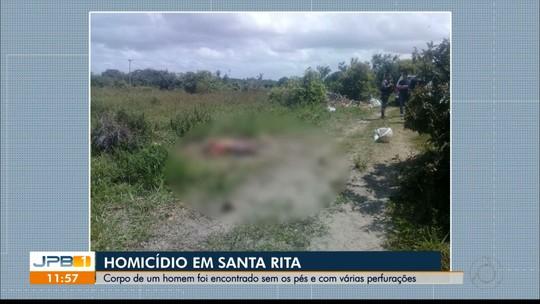 Corpo de homem é encontrado com mãos amarradas e pés decepados, na Paraíba