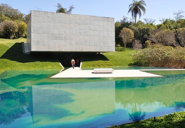 Inhotim , em Brumadinho: museu a céu aberto que oferece uma experiência inédita a visitantes (Foto: Divulgação)