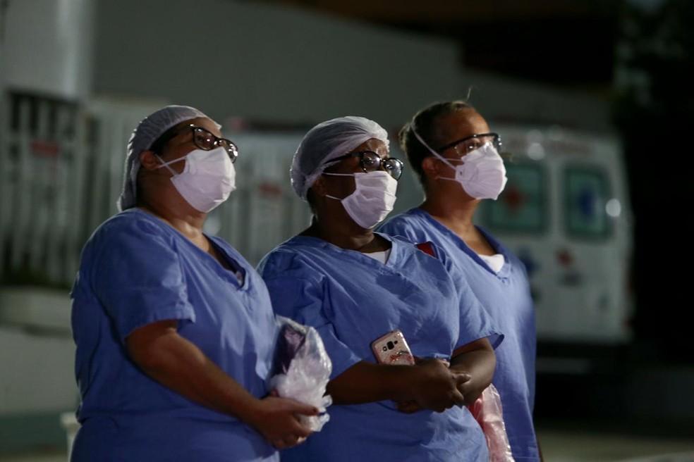 Bahia tem 305 novos casos de Covid-19 e total ultrapassa 14 mil — Foto: Paula Fróes/GOVBA
