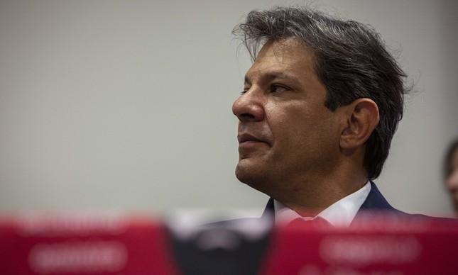 Fernando Haddad em seminário sobre a soberania nacional no Congresso