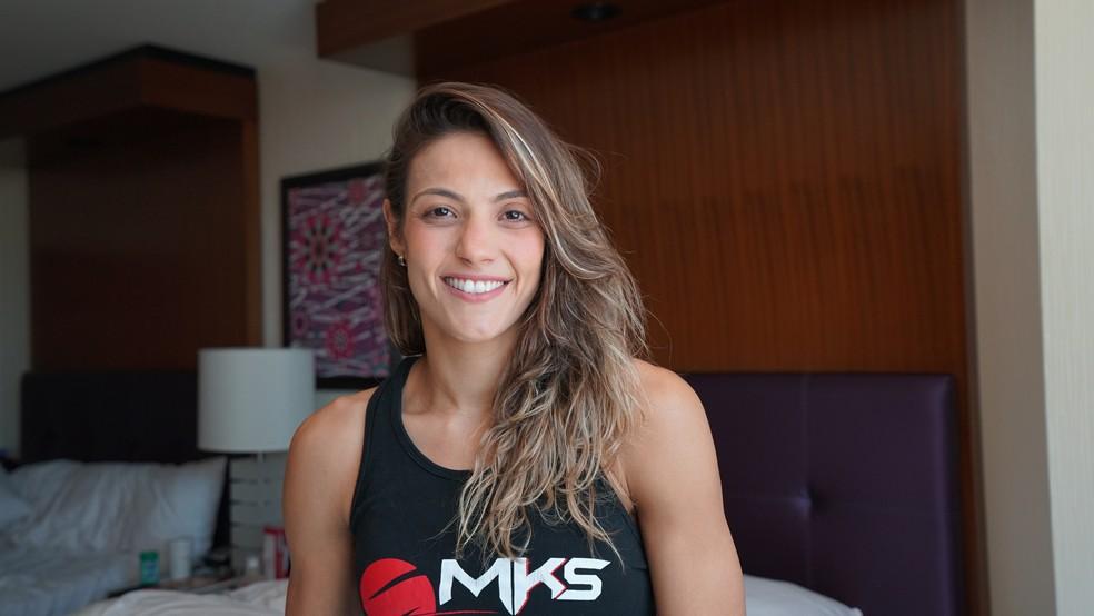 Poliana Botelho quer enfrentar Paige VanZant em sua próxima luta no UFC (Foto: Evelyn Rodrigues)