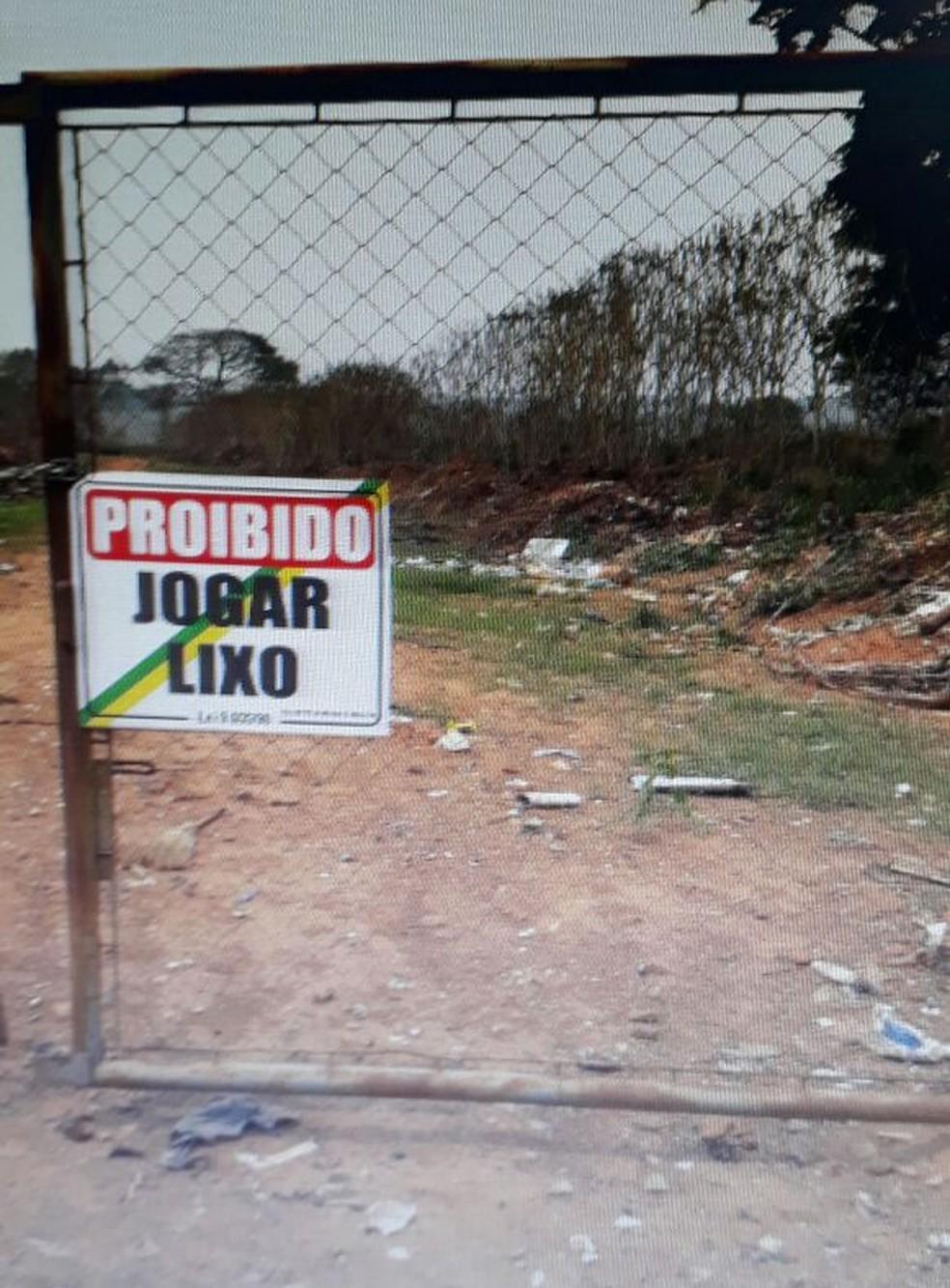 -  Lixão de Nova Brasilândia D Oeste, RO  Foto: Iziel de Abreu Silva/Arquivo pessoal