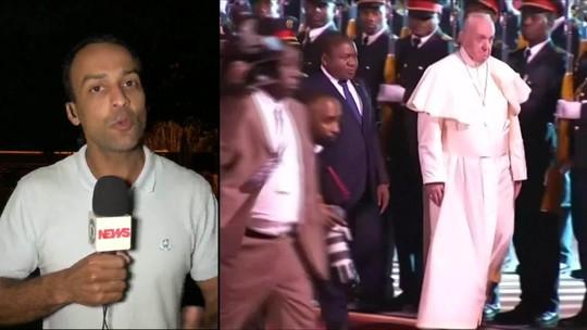 Papa Francisco começa visita à África por Moçambique