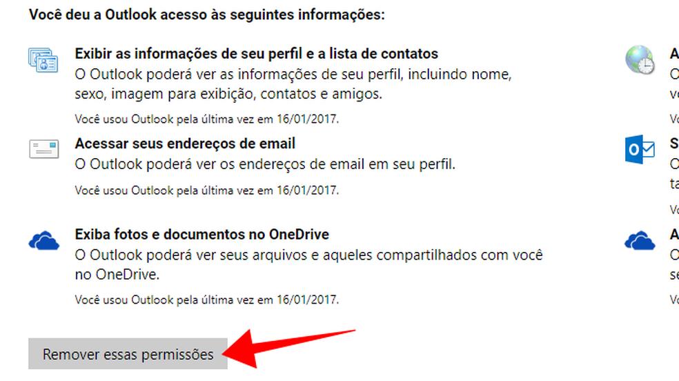 Remova um app que possa ler seu e-mail (Foto: Reprodução/Paulo Alves)
