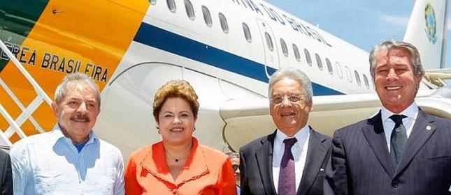 Lula, Dilma, FHC e Collor. (Foto: Roberto Stuckert / PR)