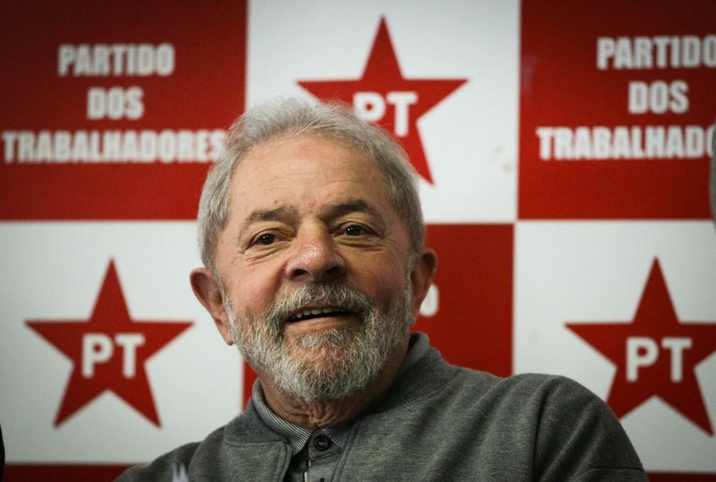 O ex-presidente Luiz Inácio Lula da Silva é réu no processo que investiga uma reforma no sítio em Atibaia
