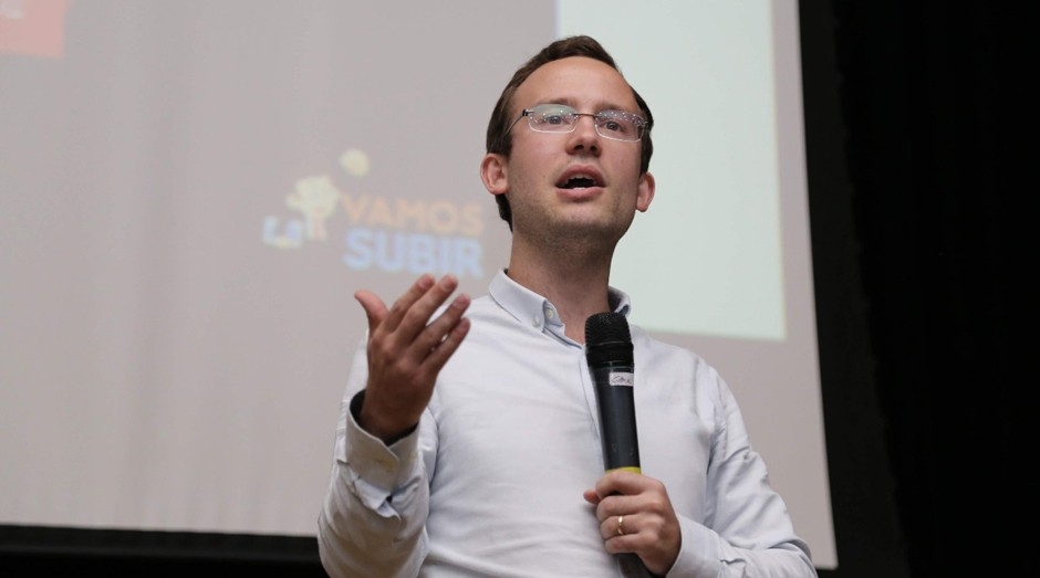 Flavio Valiati, fundador do Vamos Subir (Foto: Divulgação )