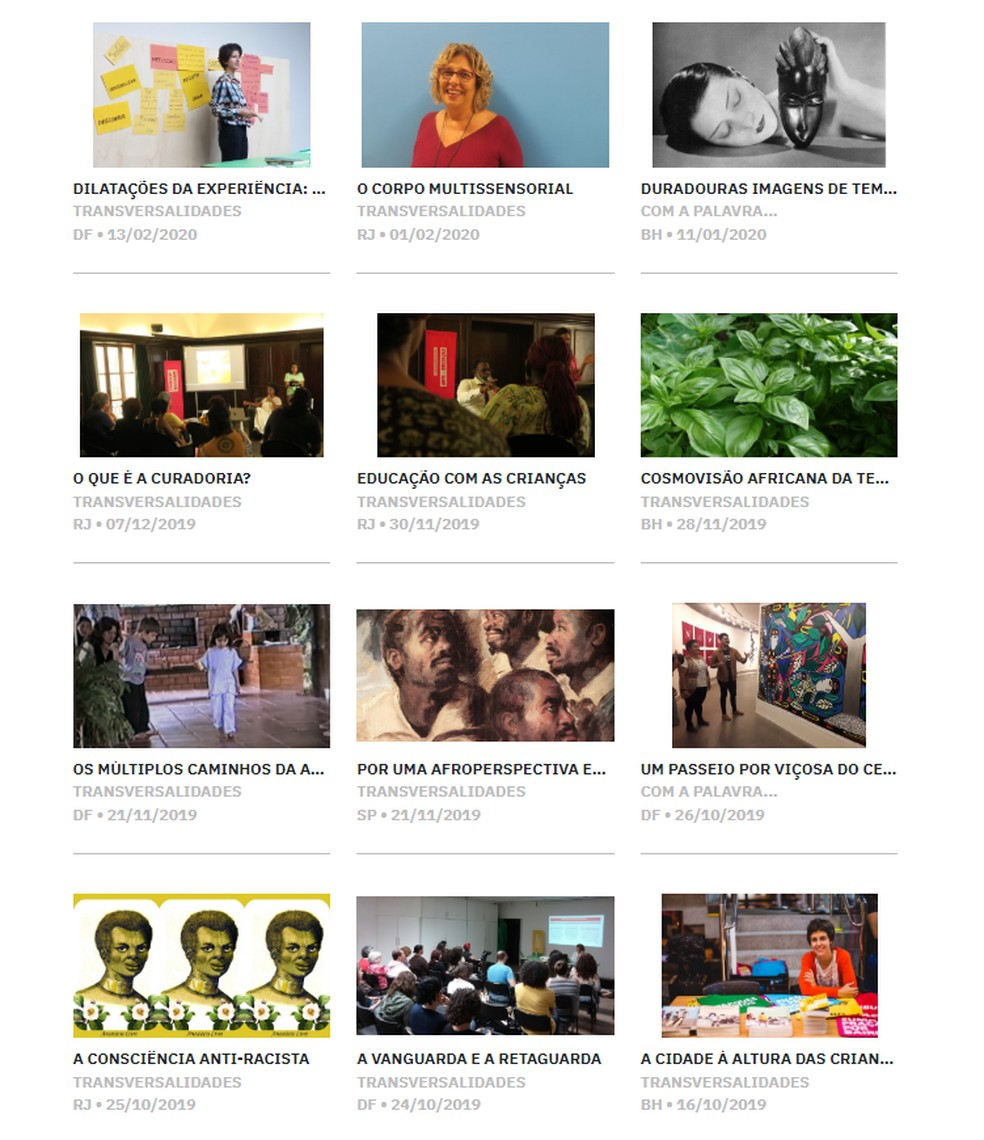 CCBB Educativo disponibiliza 150 títulos do acervo digital de arte e educação — Foto: CCBB Educativo/Reprodução