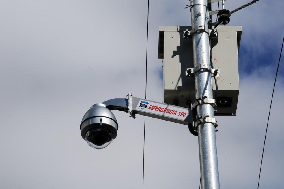 Monitoramento de câmeras em Caraúbas começa em novembro. (Foto: Divulgação/PM)