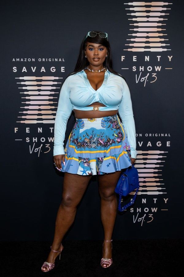 LOS ANGELES, CALIFORNIA - SEPTEMBER 22: In this image released on September 22, Precious Lee attends Rihanna's Savage X Fenty Show Vol. 3 presented by Amazon Prime Video at The Westin Bonaventure Hotel & Suites in Los Angeles, California; and broadcast on (Foto: Getty Images for Rihanna's Savag)