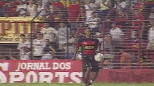 Lembra? Em 2002, Sport e Botafogo-SP acabou com confusão por causa de embaixadinhas