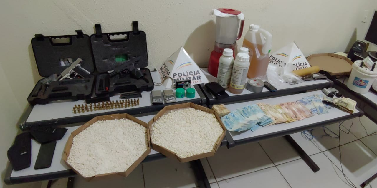Traficante usava pizzaria como fachada para a venda drogas em Governador Valadares