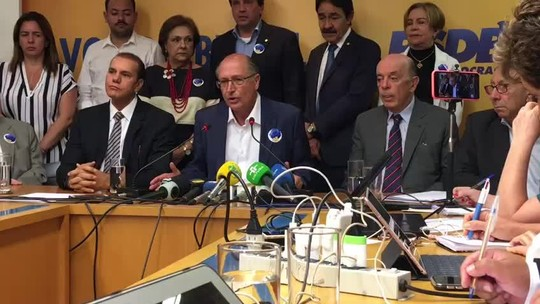 PSDB decide não apoiar Bolsonaro nem Haddad e libera diretórios para fazer a escolha que quiserem