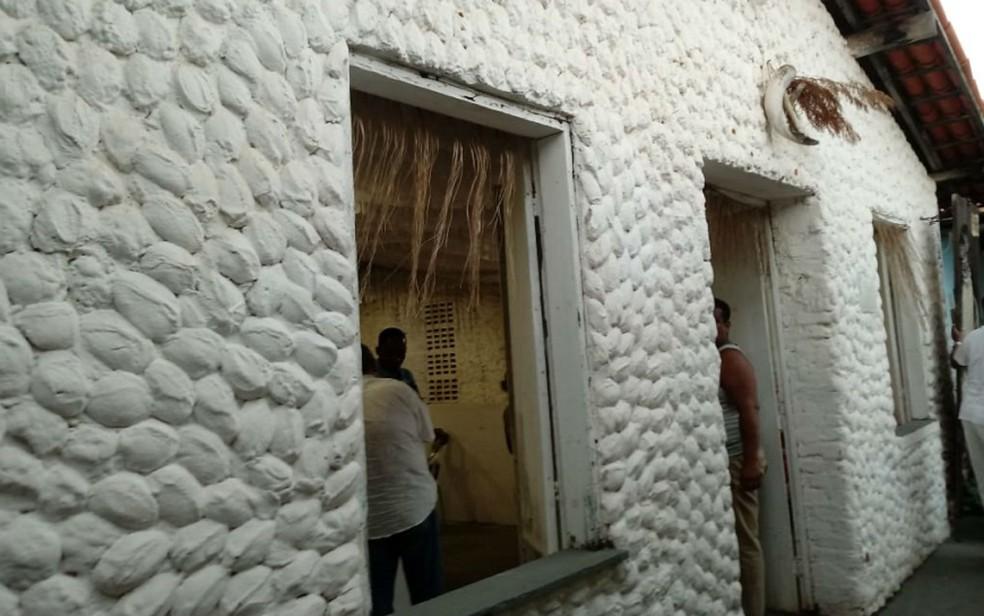 Terreiro Tumba Junsara — Foto: Carolina di Lello/Divulgação