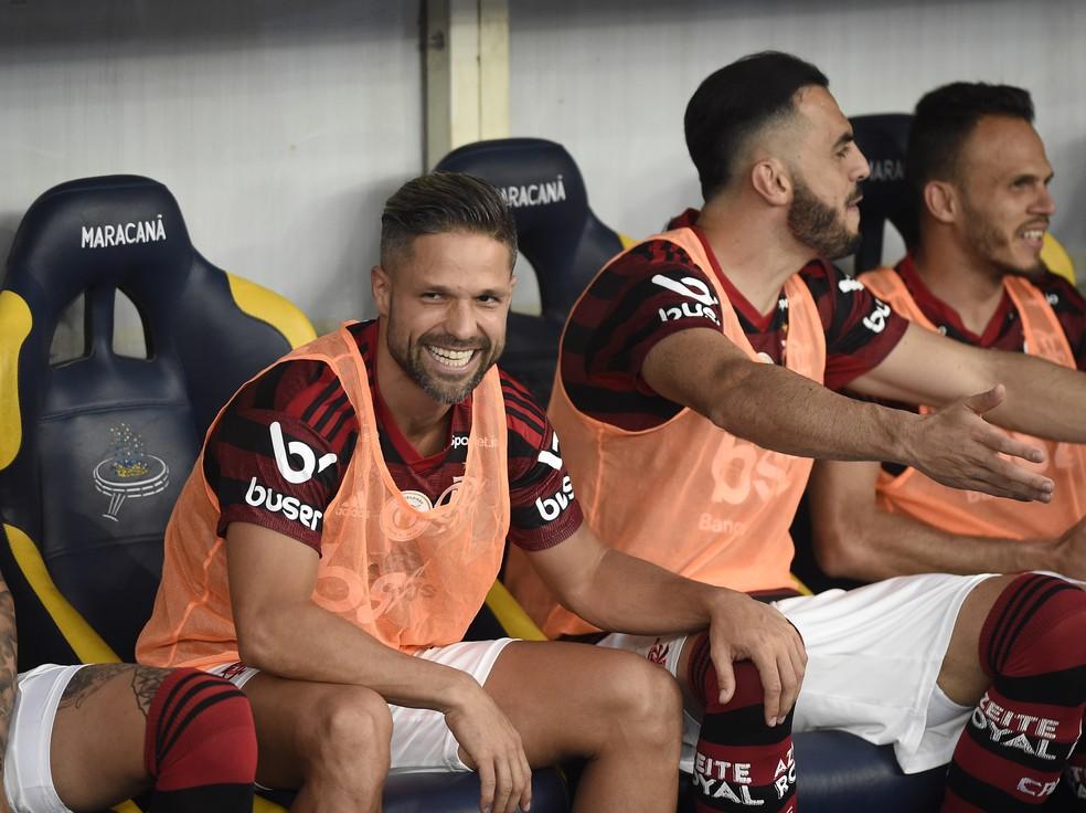 Diego deve voltar a ser titular no Flamengo depois de quase quatro meses — Foto: André Durão