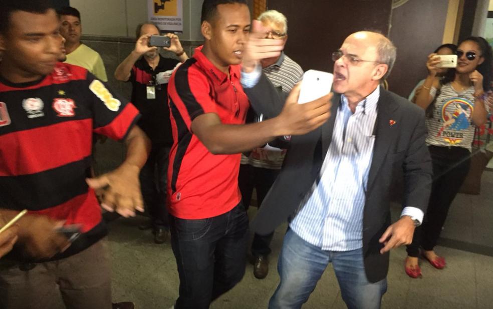 Eduardo Bandeira de Mello. presidente Flamengo Salvador (Foto: Raphael Zarko)