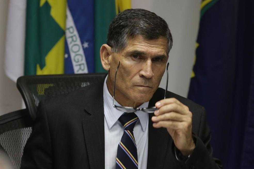O general Carlos Alberto Santos Cruz, futuro ministro da Secretaria de Governo — Foto: Fabio Rodrigues Pozzebom/Agência Brasil